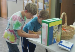 Ian and Kekoa participate in 4-H Centennial Scavenger Hunt