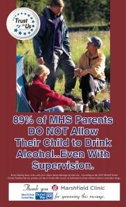 Parent/Community ad