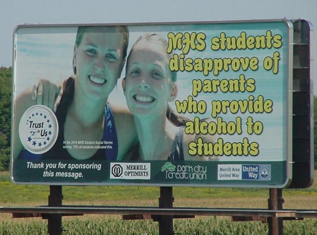 Billboard - Hwy K North near County Road Q Intersection