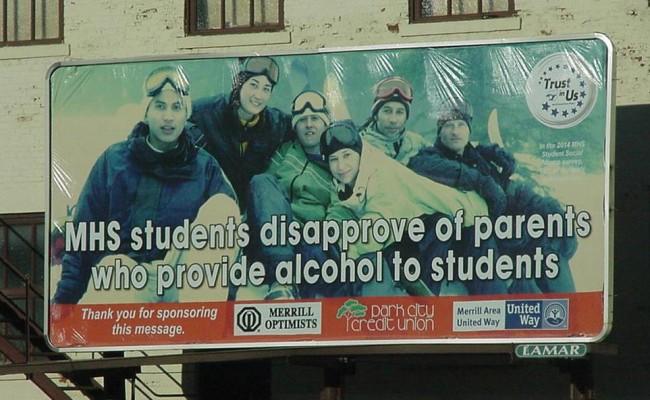 Billboard - East 2nd Street by Fire Station