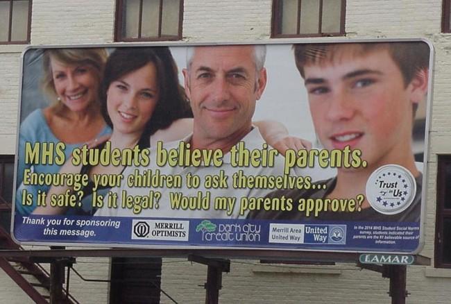 Billboard on Hwy 64 West