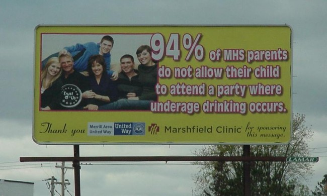October 2013 Bill Board on West 64 near Dave's County Market