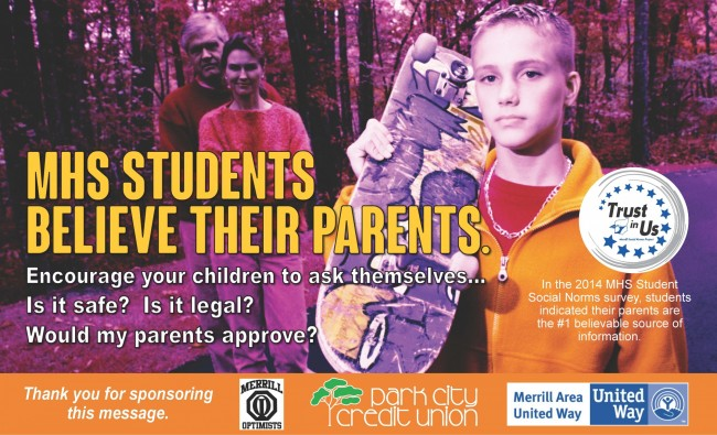 Parent/Community poster