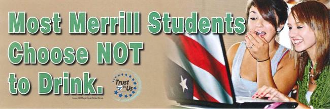 Merrill Student Banner