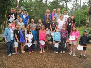 4-H Summer Camp Campers, Counselors and Adult Staff